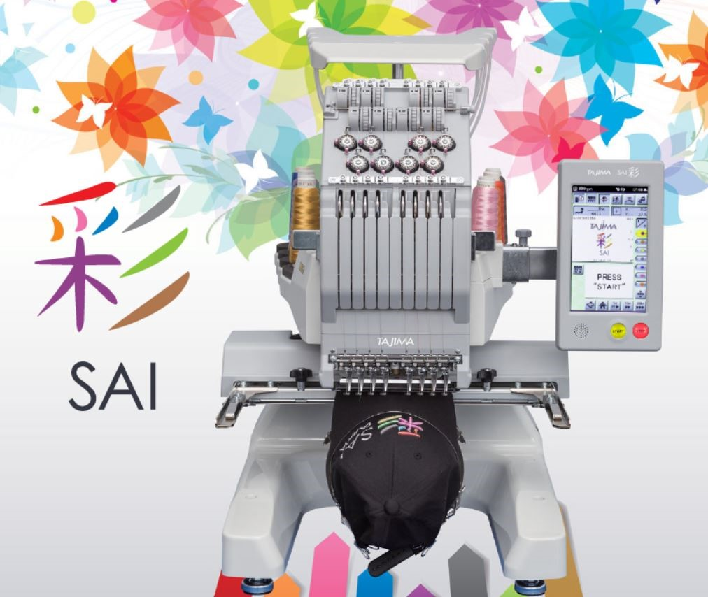 The NEW Tajima SAI Embroidery Machine is here